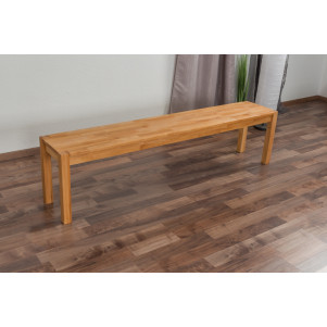 Bank Wooden Nature 134 Kernbuche massiv - 180 x 33 cm (L x B)