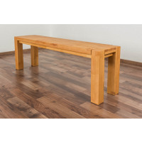Bank Wooden Nature 133 Kernbuche massiv - 140 x 33 cm (L x B)